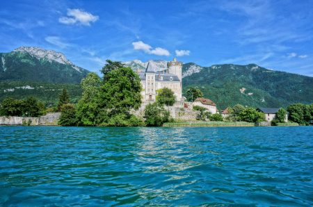 Chateau on Lake Annecy