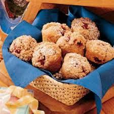 Raspberry Struesel Muffins