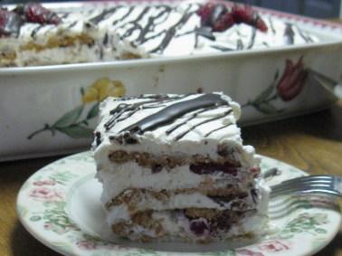 No Bake Refridgerator Cake