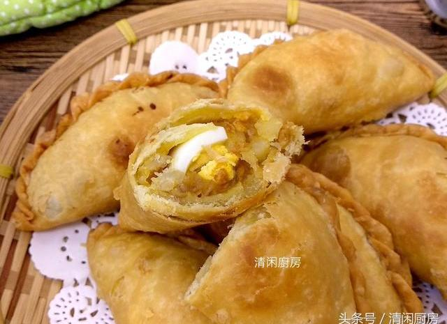 教你做马铃薯鸡肉咖喱角,东南亚风味