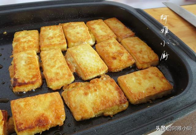 豆腐这样做,外酥里嫩嘎嘎香