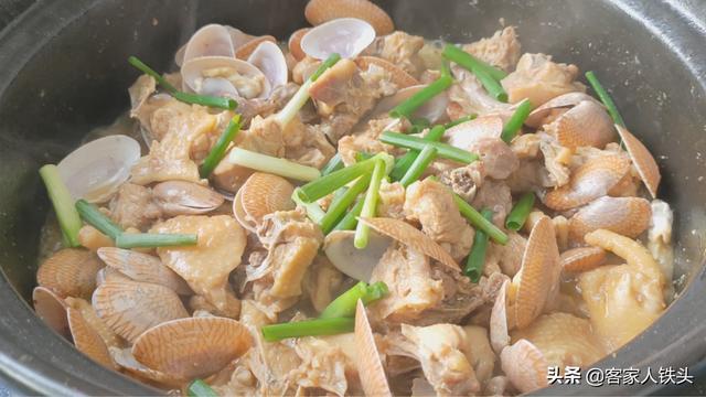 吃鸡不煎不炸加1斤花甲,出锅鸡肉带汁