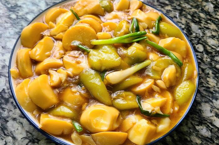 丝瓜豆腐的做法,经常吃的一道家常菜简单美味