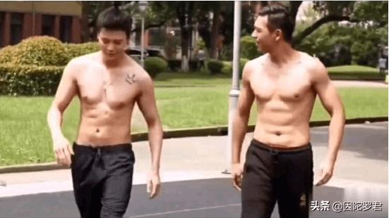 当1米85的李现撞上1米82陈伟霆,才知道健身对男人有多重要