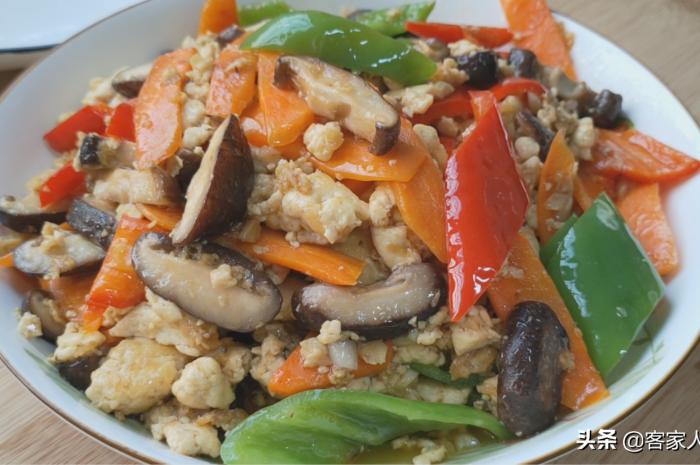 豆腐不要红烧了,加1把香菇这样做好吃又下饭