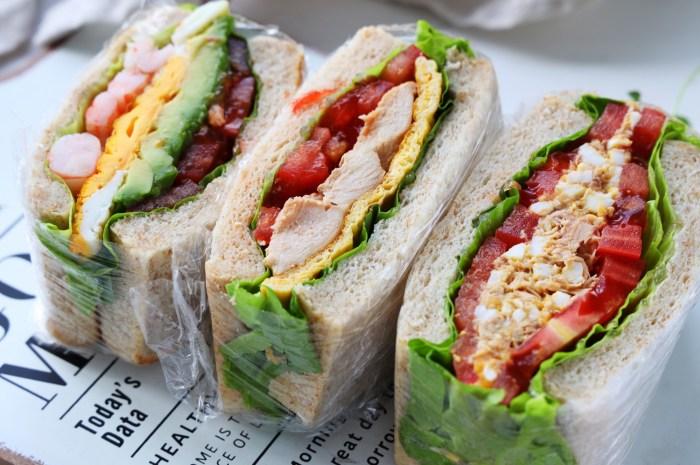 必吃的3款高蛋白三明治,低油低糖原汁原味
