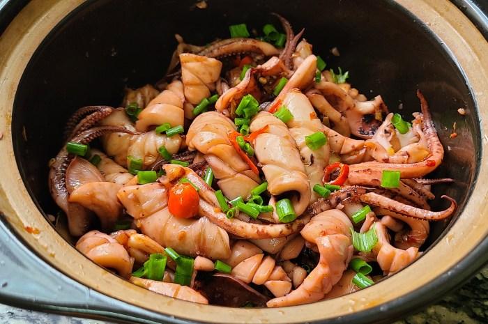 魷魚的家常做法,味道鮮美又好吃出鍋香噴噴