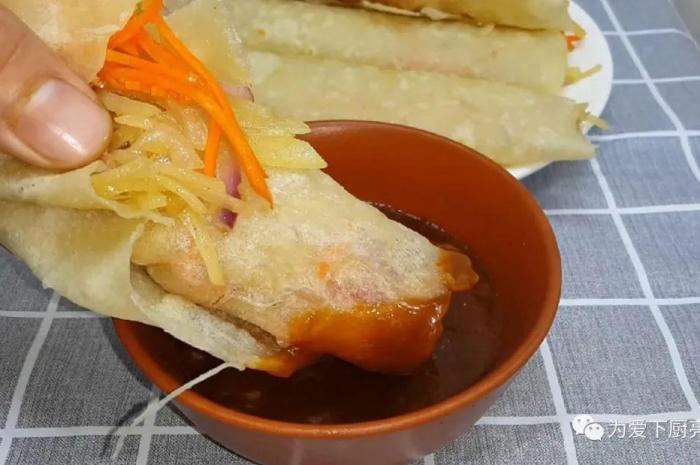 家常蔬菜捲餅做法,掌握配方技巧太好吃