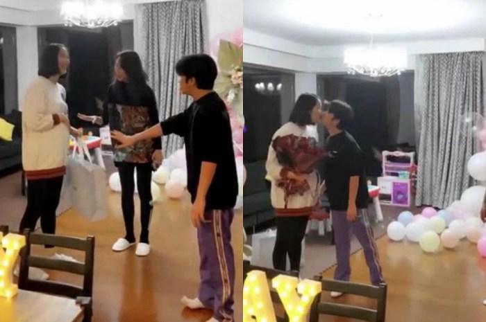 王祖藍曬慶生現場,與李亞男在蔡少芬前熱吻