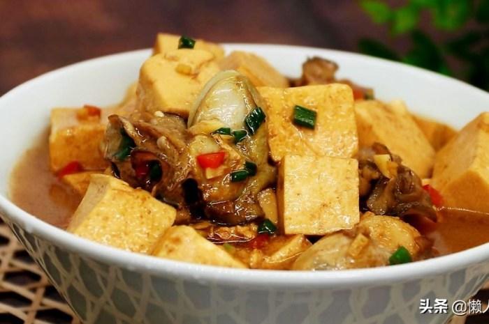 炖豆腐时加点它,吃着特别鲜嫩嫩滑滑