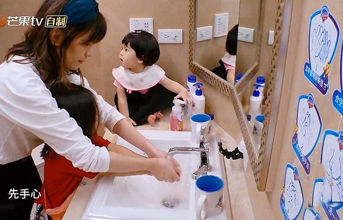 賈靜雯家堪稱完美,為孩子打造遊樂天地