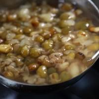 煮綠豆湯時教你一個訣竅,5分鐘綠豆煮開花