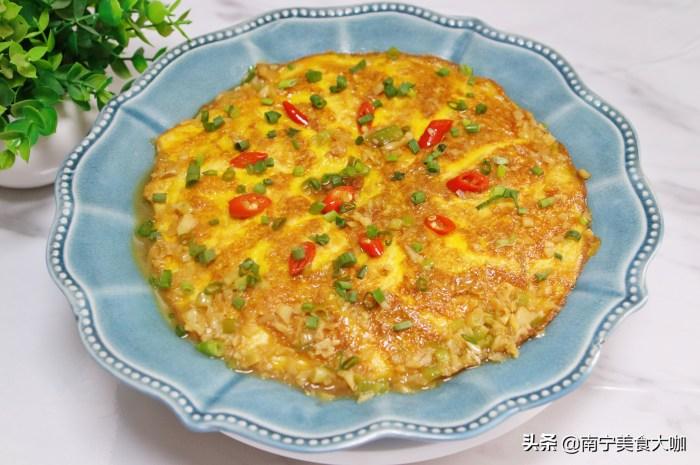 用豆腐和鸡蛋做的这盘菜,分享一个用鸡蛋和豆腐作为主要食材的美食