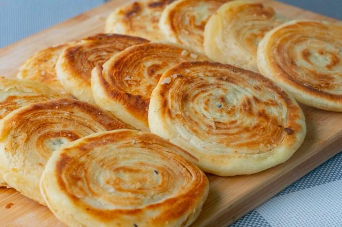 早餐饼最过瘾的5种做法,不用烤箱,咬一口酥掉渣