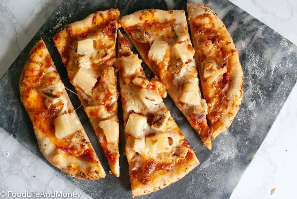 Chicken Pineapple Pizza Recipe
