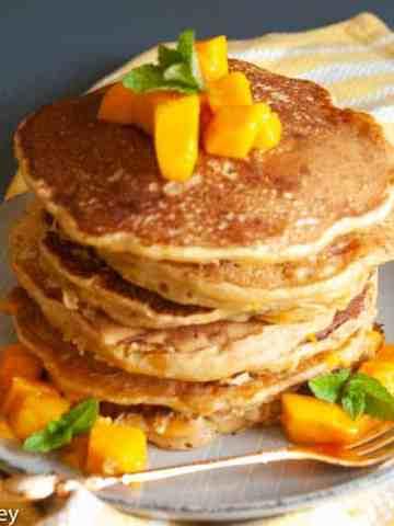 Vegan Mango Pancake Recipe