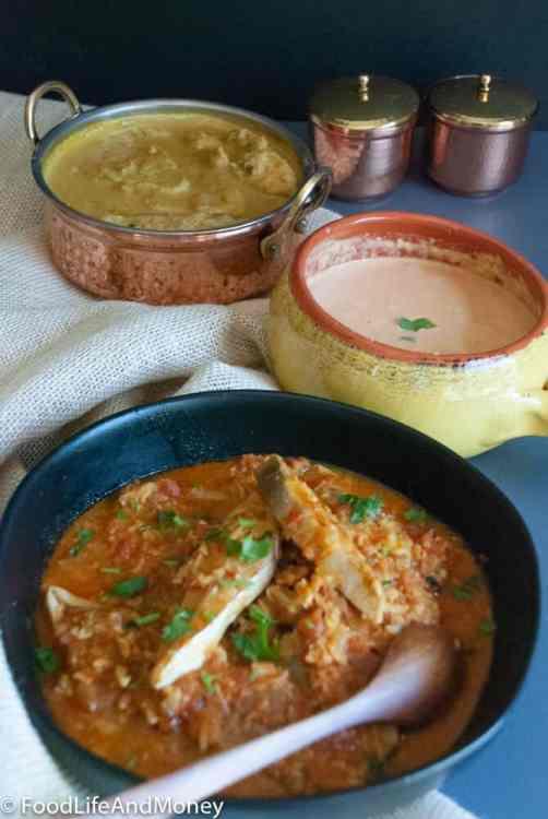 Pomfret curry
