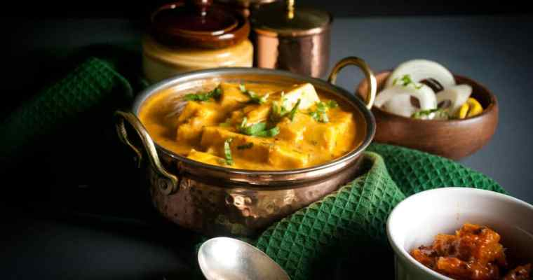 How to make Shahi Paneer   Mild Indian cottage cheese curry recipe