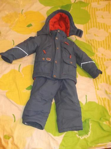 Зимний комплект eft для мальчика graphic