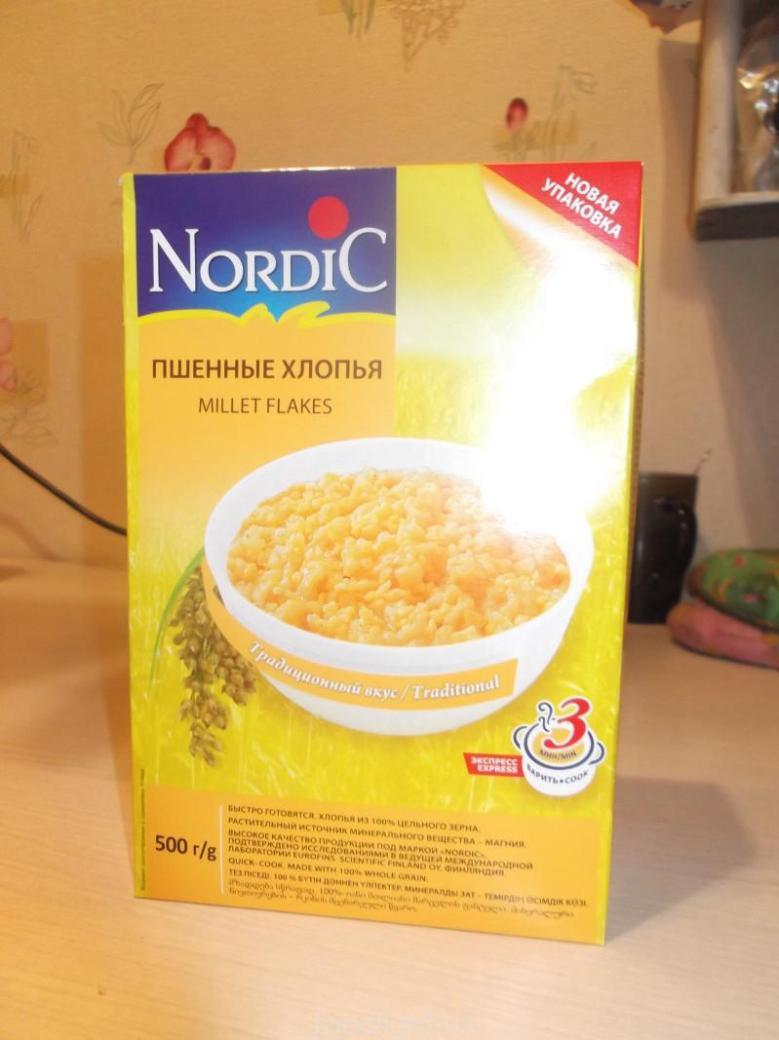 Nordic. Пшенные хлопья