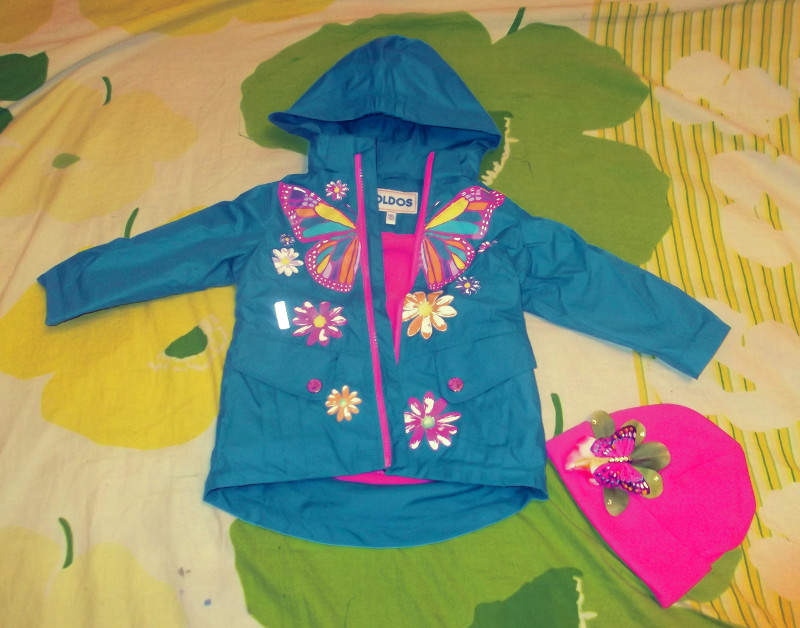 Куртка Oldos для девочки. Осень