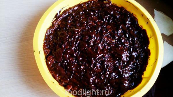 Лимонно-шоколадный пирог без выпечки graphic