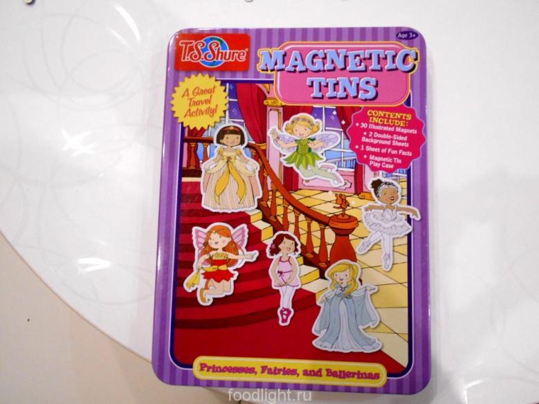 Shure - Magnetic Tins. Принцессы, феи, балерины.