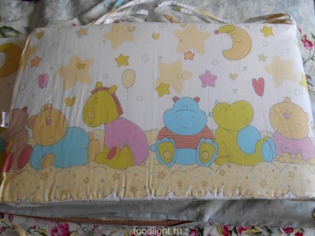 Бортики в кроватку Звездопад