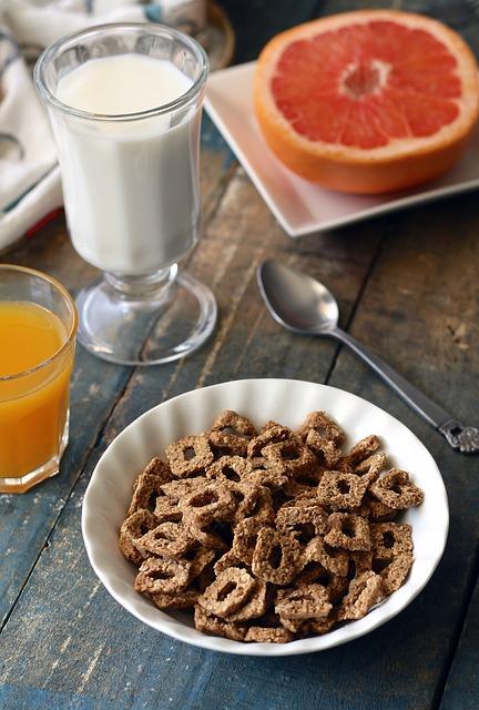 Завтрак с грейпфрутом