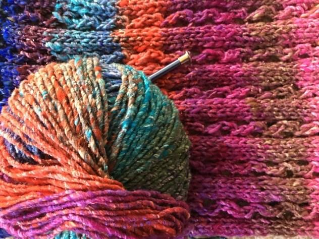 меланжевая пряжа (melange yarn)
