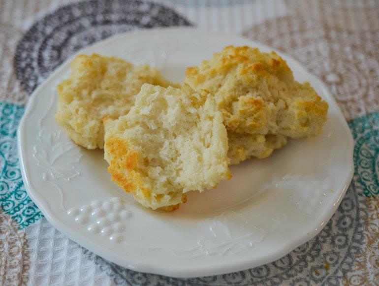Incredible Easy Drop Biscuits
