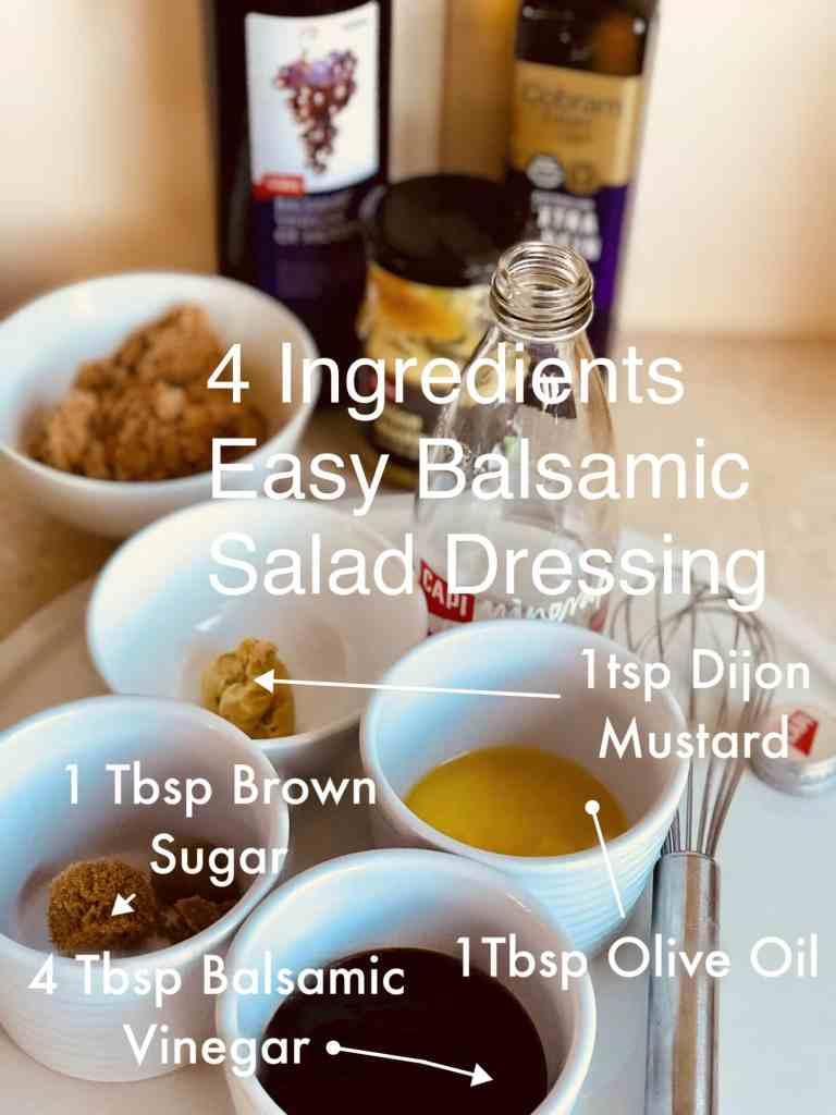 Easy Balsamic Salad Dressing