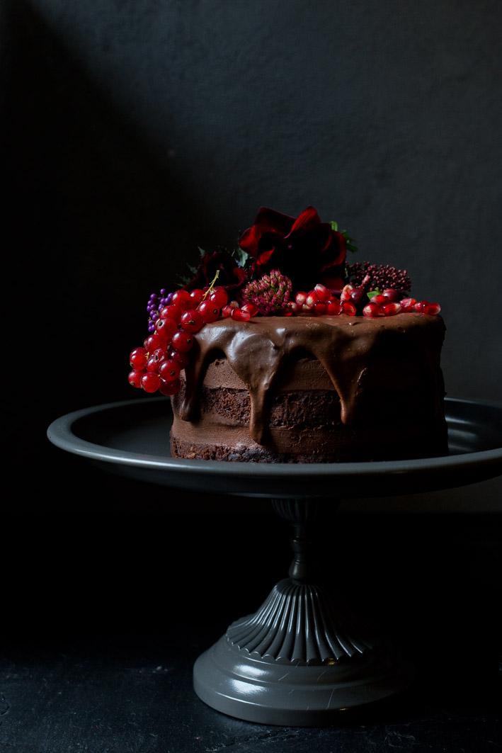 SchokoladenTorte mit Schokoladencreme  Foodlovin