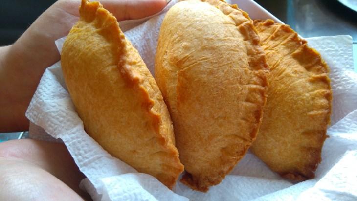 Chicken and Corn Empanadas