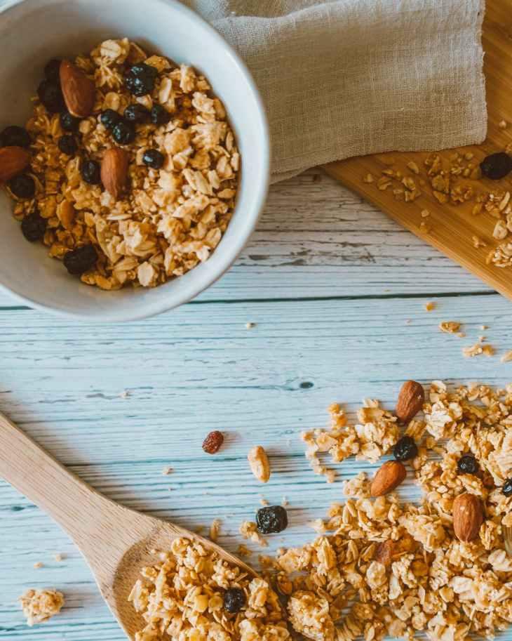 food healthy wood spoon