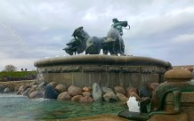 Gefion Fountain in Churchill Park