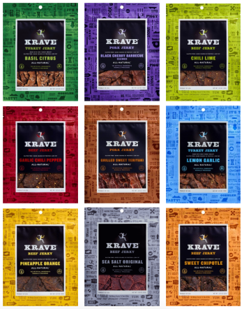 food marketing like krave jerky