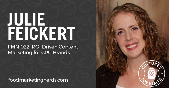 julie feickert content marketing for cpg brands