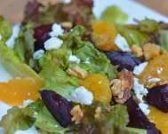 Orange, Roasted Beet and Walnut Salad