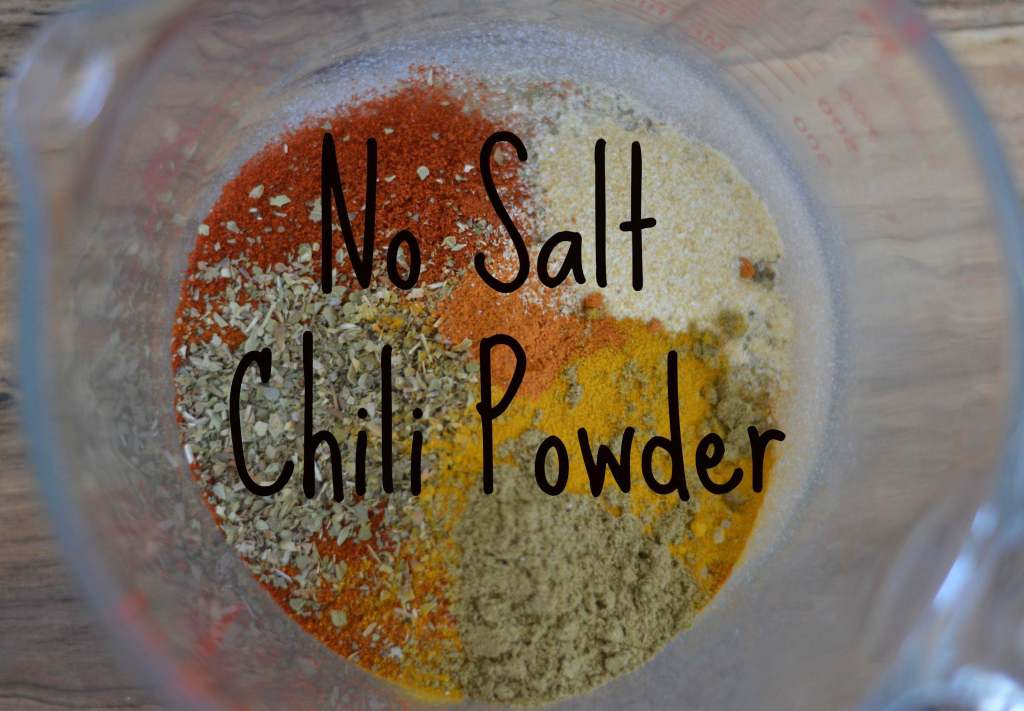no salt chili powder recipe
