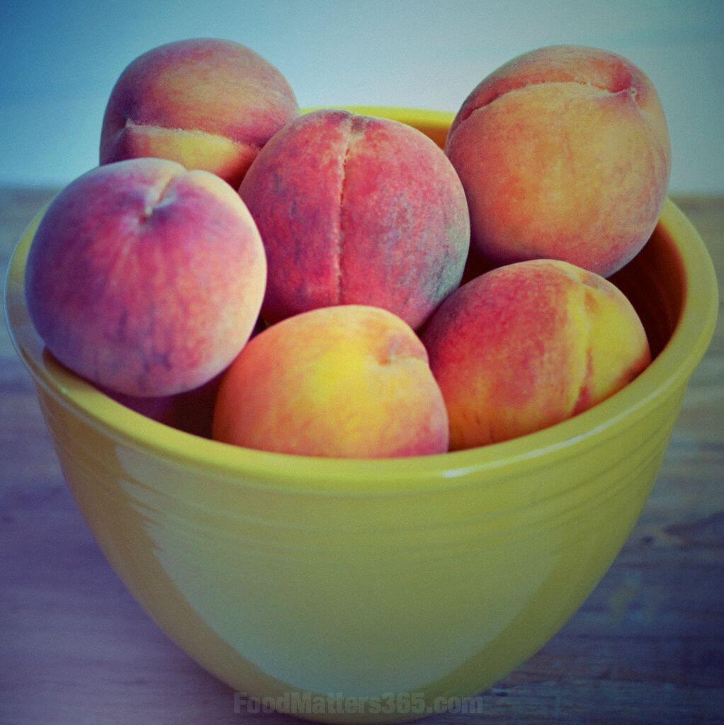 Got Peaches? Make a Peach Smoothie