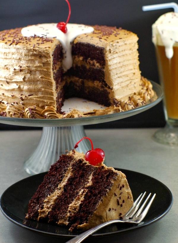 Root Beer Float Cake Recipe Birthday Cake Recipe Food