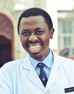 Prof Bongani Mayosi
