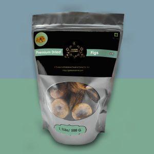 Golden Kashmir Premium Dried Figs | 500G (1.1Lbs)