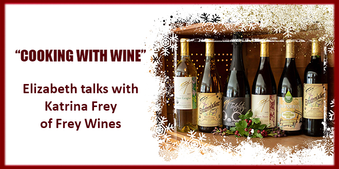 Frey (truly organic) wines for the holidays