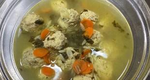 Healthier Italian Wedding Soup