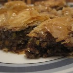 Pecan Pie and Maple Syrup Baklava