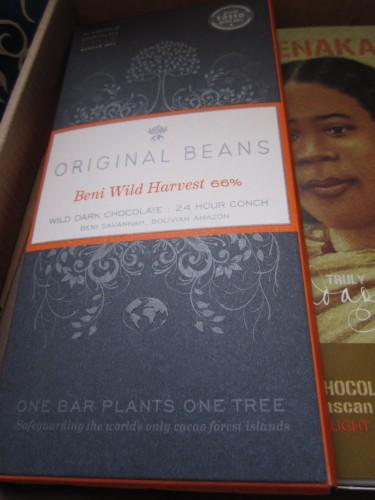 Original Beans Beni Wild Harvest 66% Bean To Bar Chocolate - www.foodnerd4life.com