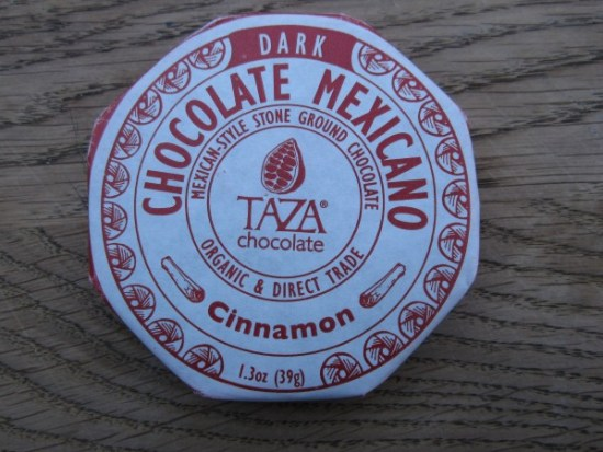 Taza's Chocolate Cinnamon Wrapped - www.foodnerd4life.com