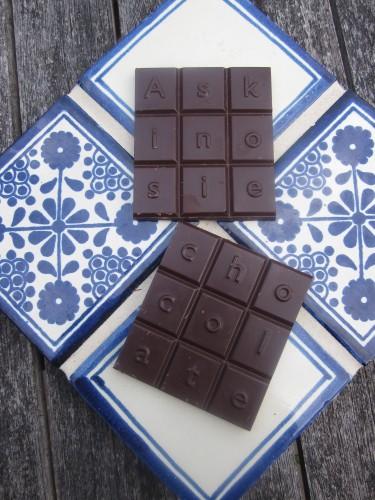 Askinosie San Jose Del Tambo, Ecuador 70% Chocolate Unwrapped - www.foodnerd4life.com